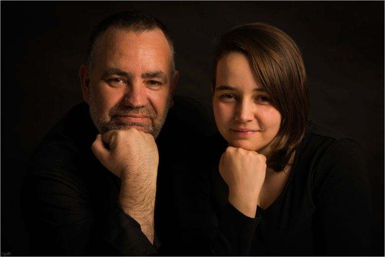 Father and daughter-1