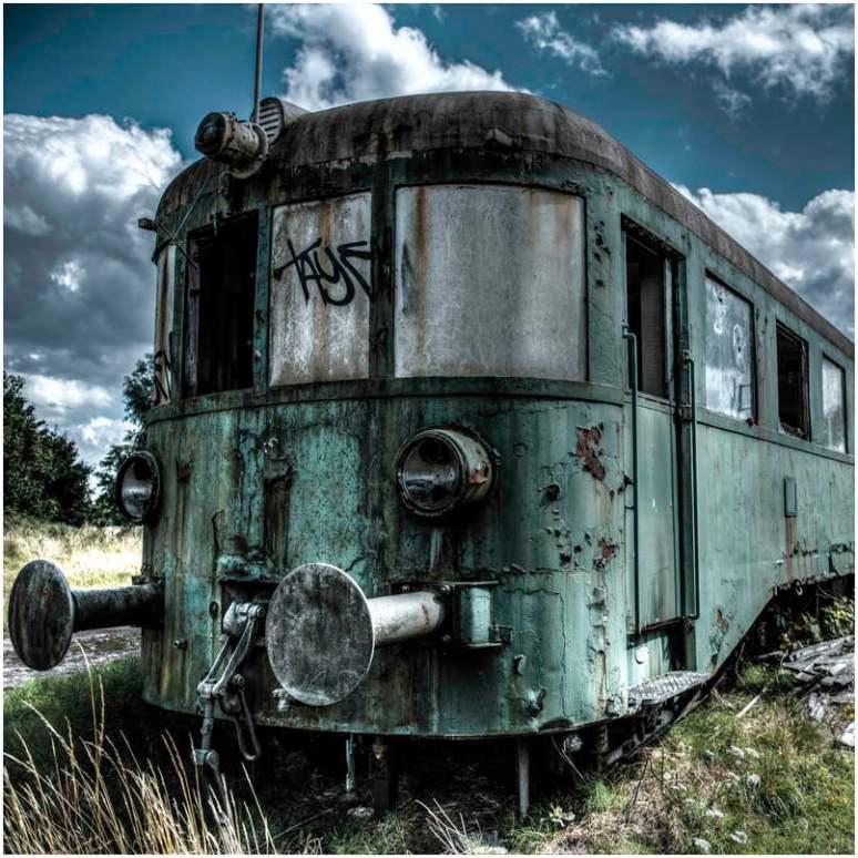 Trein M 2 HDR blog