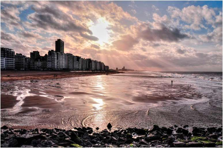 Oostende zonsonderang-1