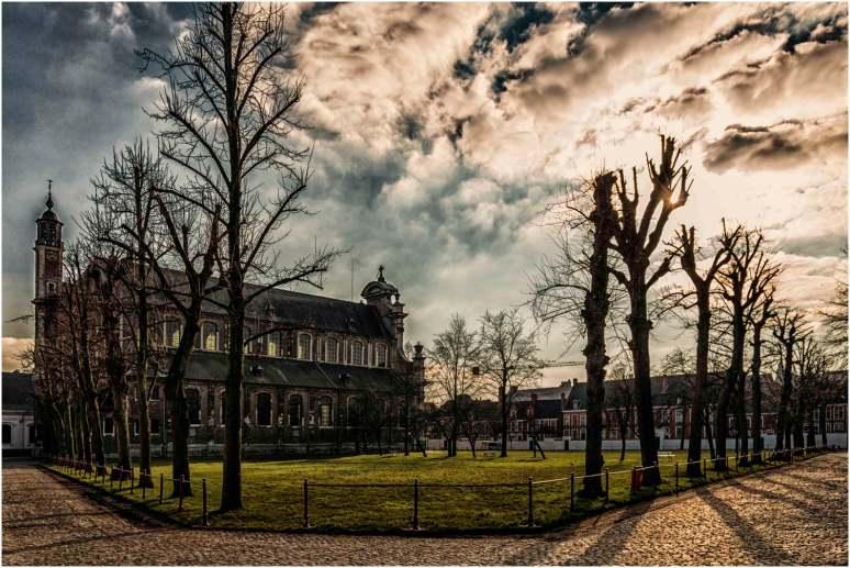 Begijnhof Gent kleur