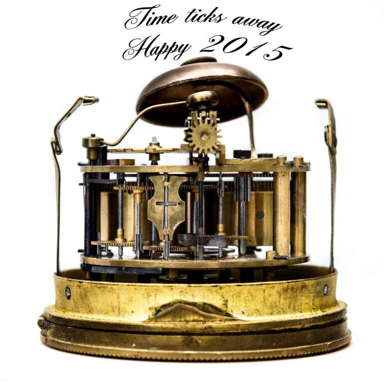Time ticks away