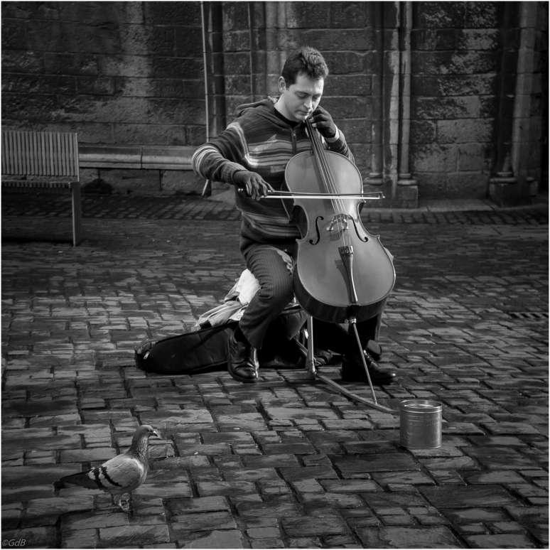 Straatmuzikant