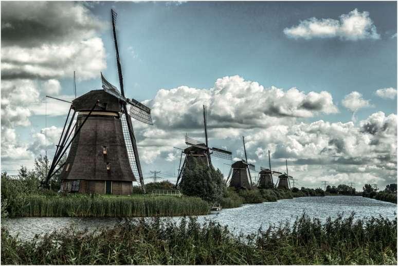 Kinderdijk Nederland