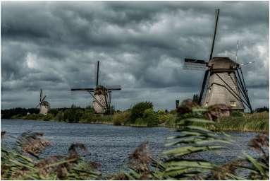 Molens Nederland Kinderdijk-12