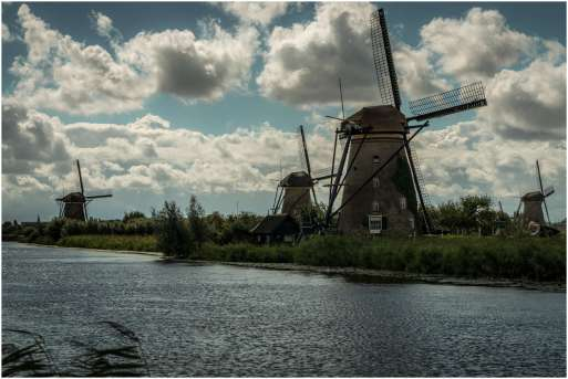 Molens Nederland Kinderdijk