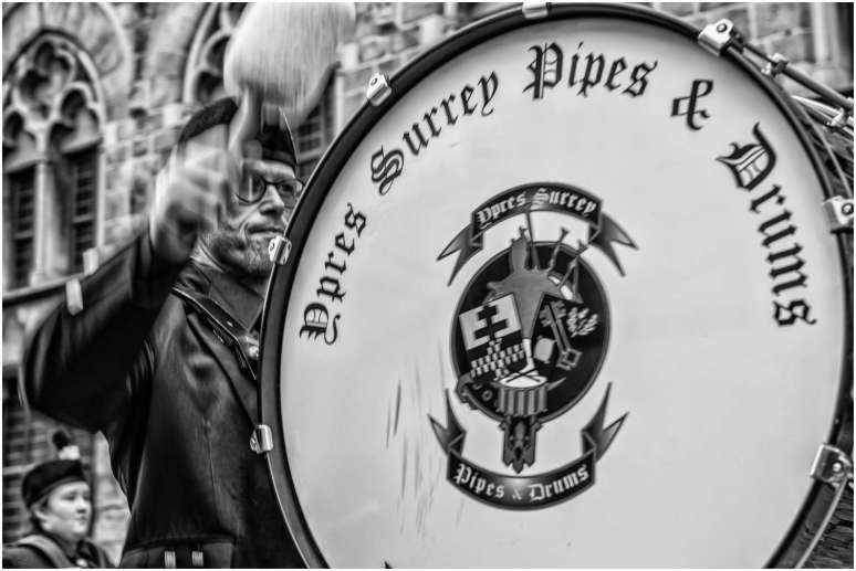 Ypres surrey pipes and drums