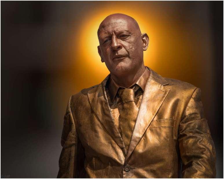 Gouden man